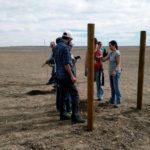 friends and family planting the wyoming vineyard